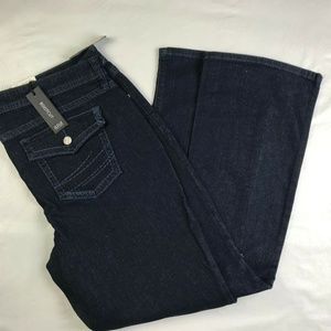 A.N.A WOMEN'S BOOTCUT JEANS IN COLOR RINSE